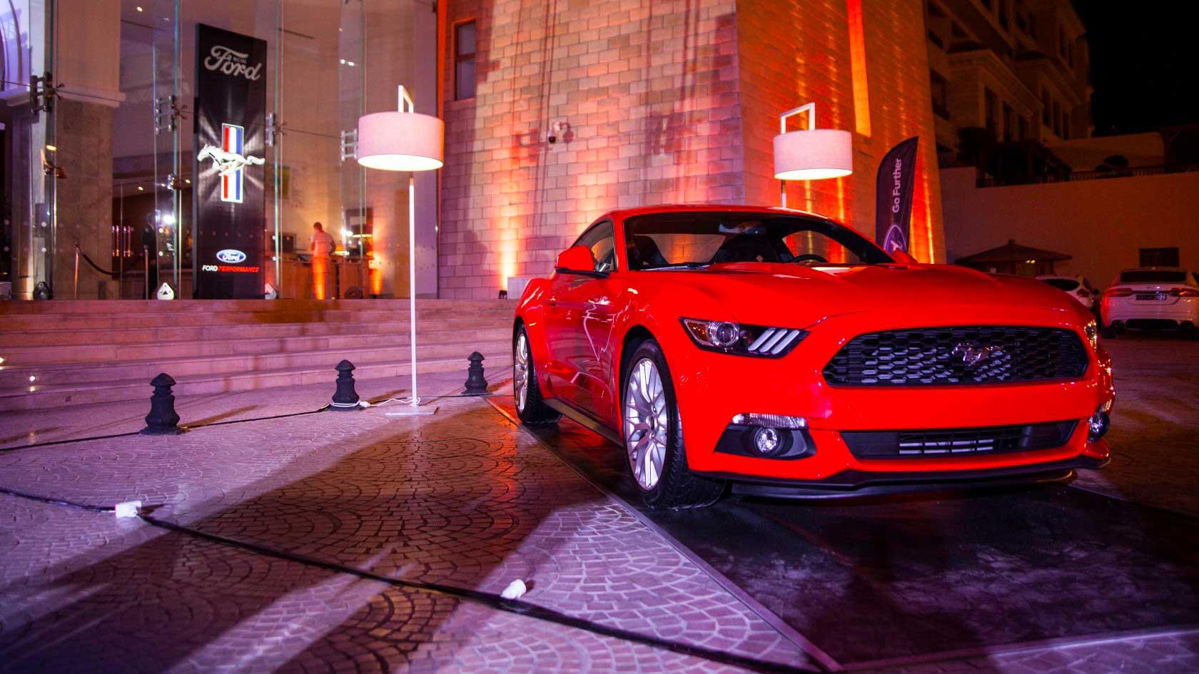La légendaire Ford Mustang débarque en Tunisie