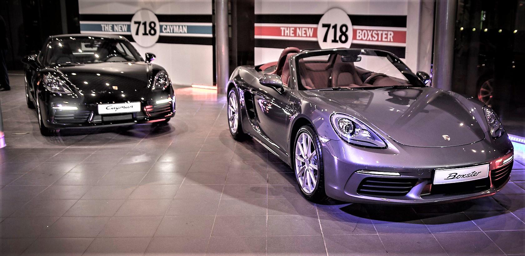 Les nouveaux modèles 718 chez Porsche Tunisie
