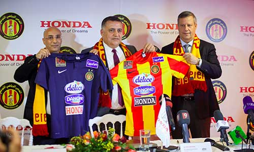 HONDA, sponsor de l'Espérance Sportive de Tunis