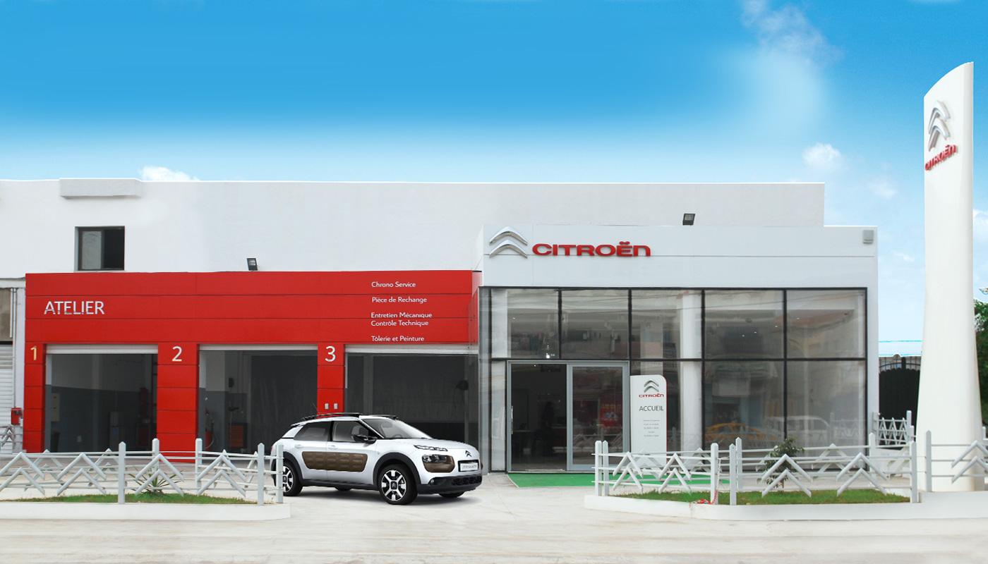 Réouverture du showroom Citroën à Mannouba