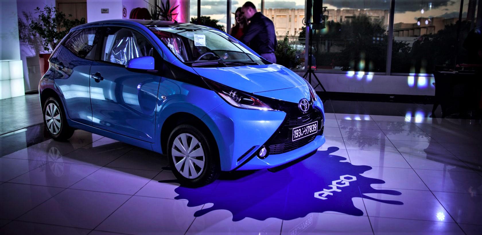 Toyota lance officiellement l'AYGO populaire en Tunisie