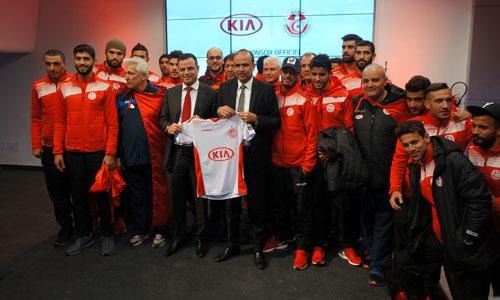 KIA Motors, partenaire majeur de l'equipe nationale de football