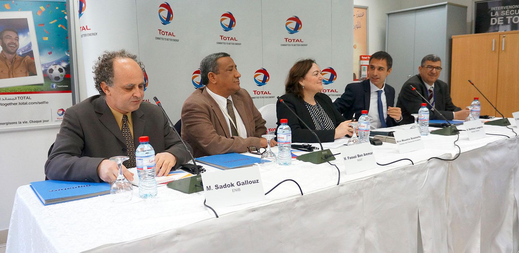 Total Tunisie signe un partenariat avec trois Grandes Ecoles
