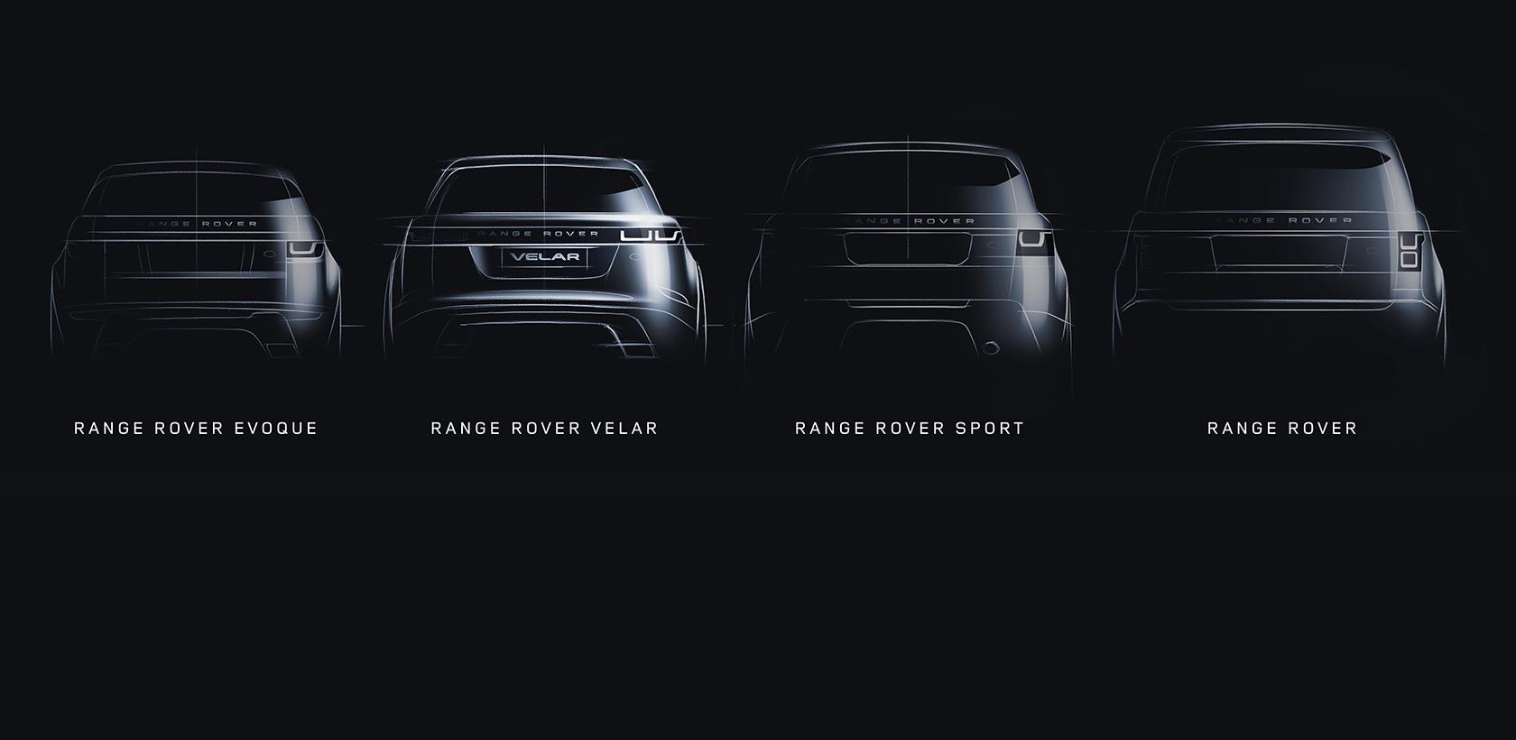 La famille Range Rover s'agrandit avec le Velar