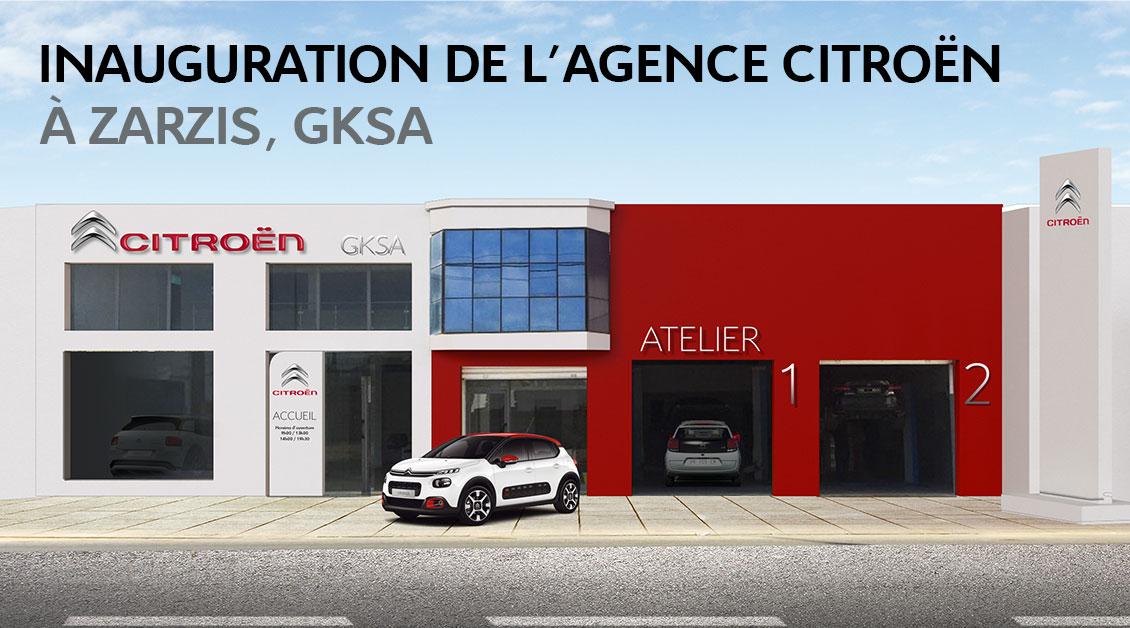 Nouvelle agence Citroën à Zarzis