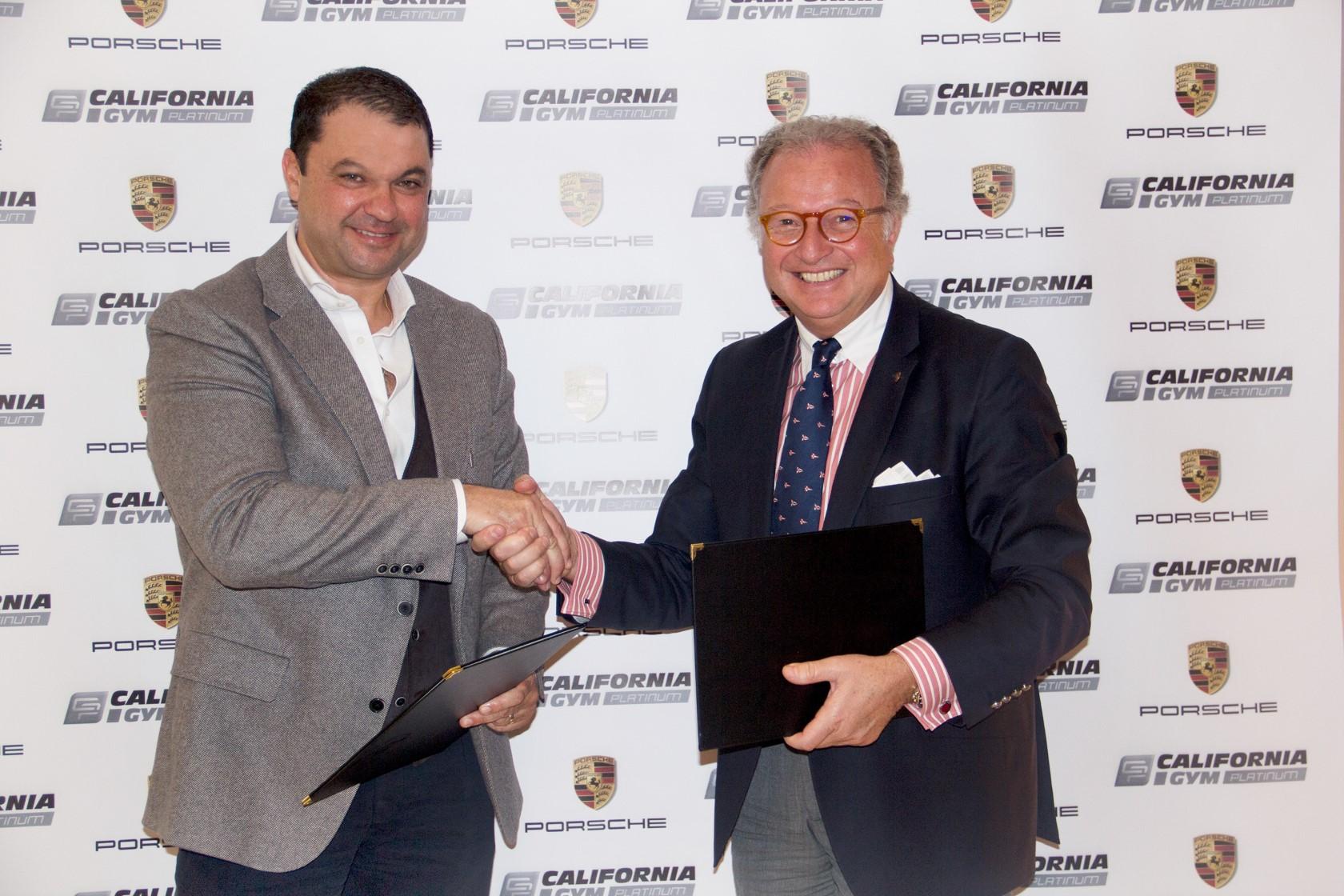 Signature de partenariat entre Porsche Tunisie et California Gym Platinum