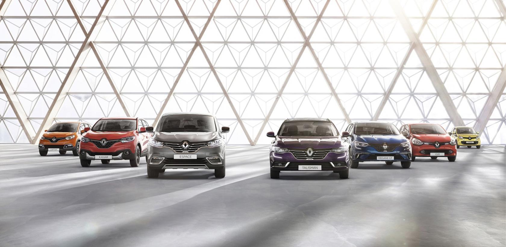 Renault numéro un des ventes des VP en Janvier