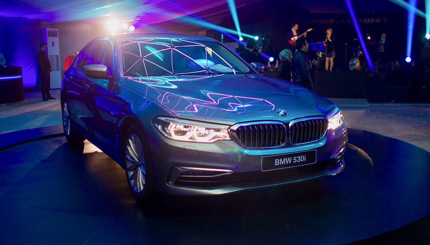 Nouvelle BMW Série 5 chez Ben Jemâa Motors