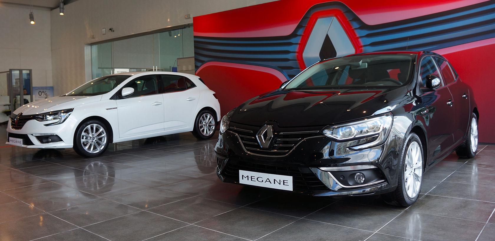 Nouvelle Renault Megane chez ARTES