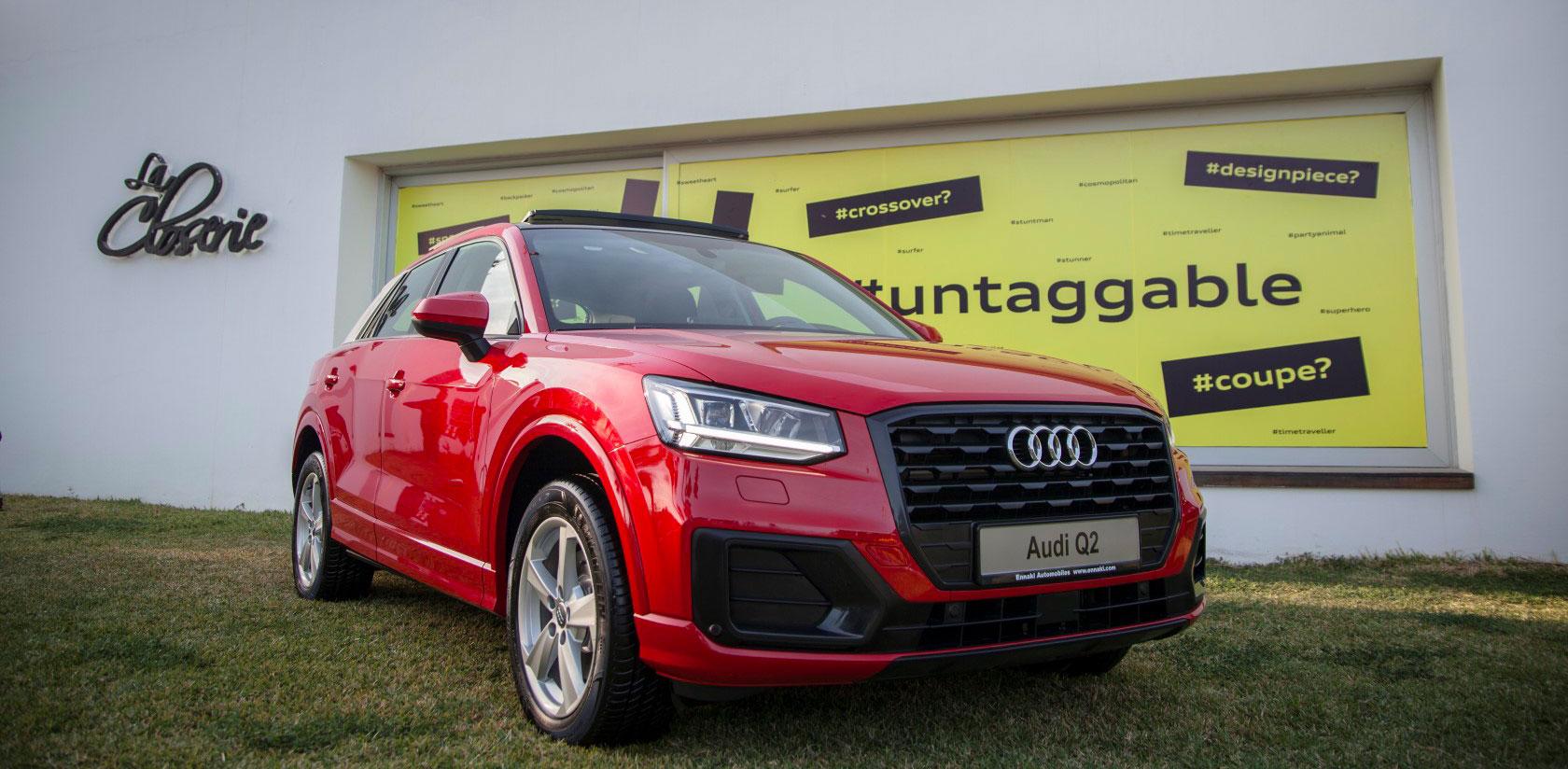 Audi Tunisie présente le Q2 à La Closerie
