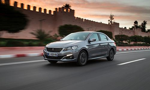 Essai Peugeot 301 restylée à Marrakech