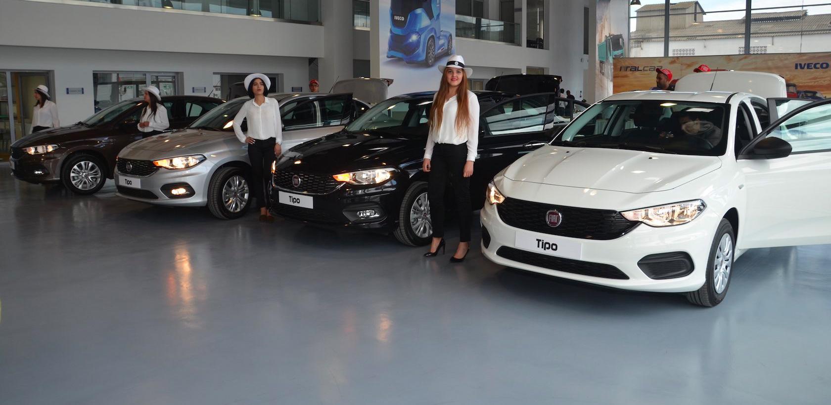 Italcar lance la nouvelle Fiat Tipo 4 portes