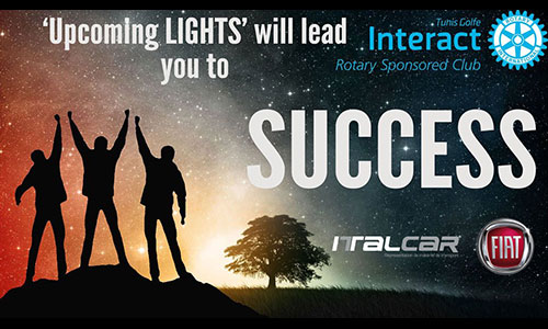 ITALCAR SA sponsor officiel de l'évènement Upcoming Lights