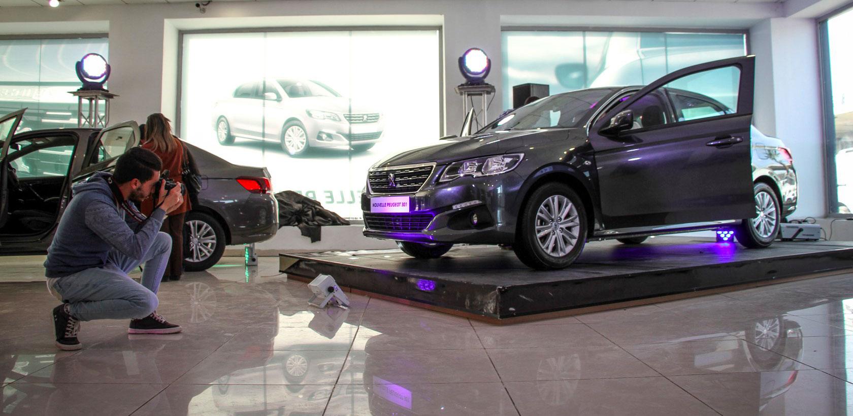 Nouvelle Peugeot 301 chez STAFIM