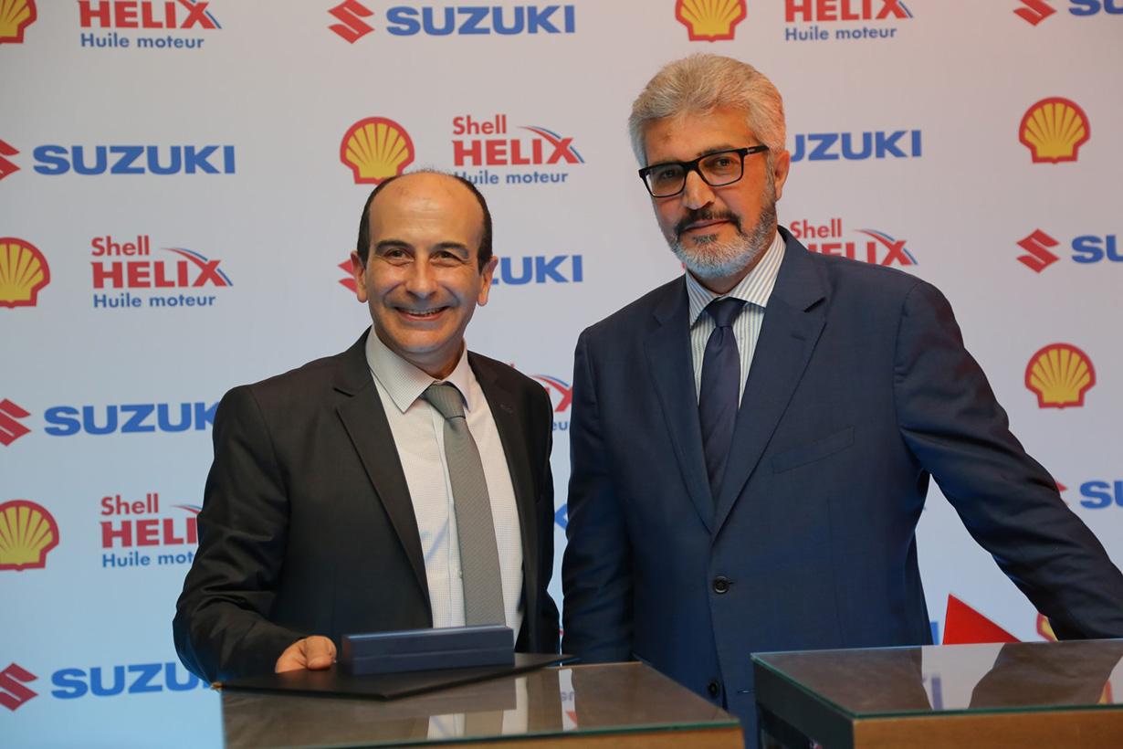 Suzuki Tunisie fait confiance à Shell Helix
