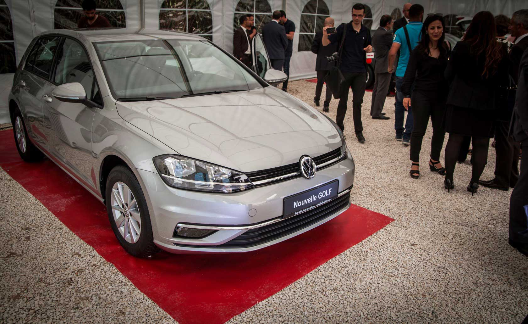 Ennakl Automobiles présente la Golf 7 restylée