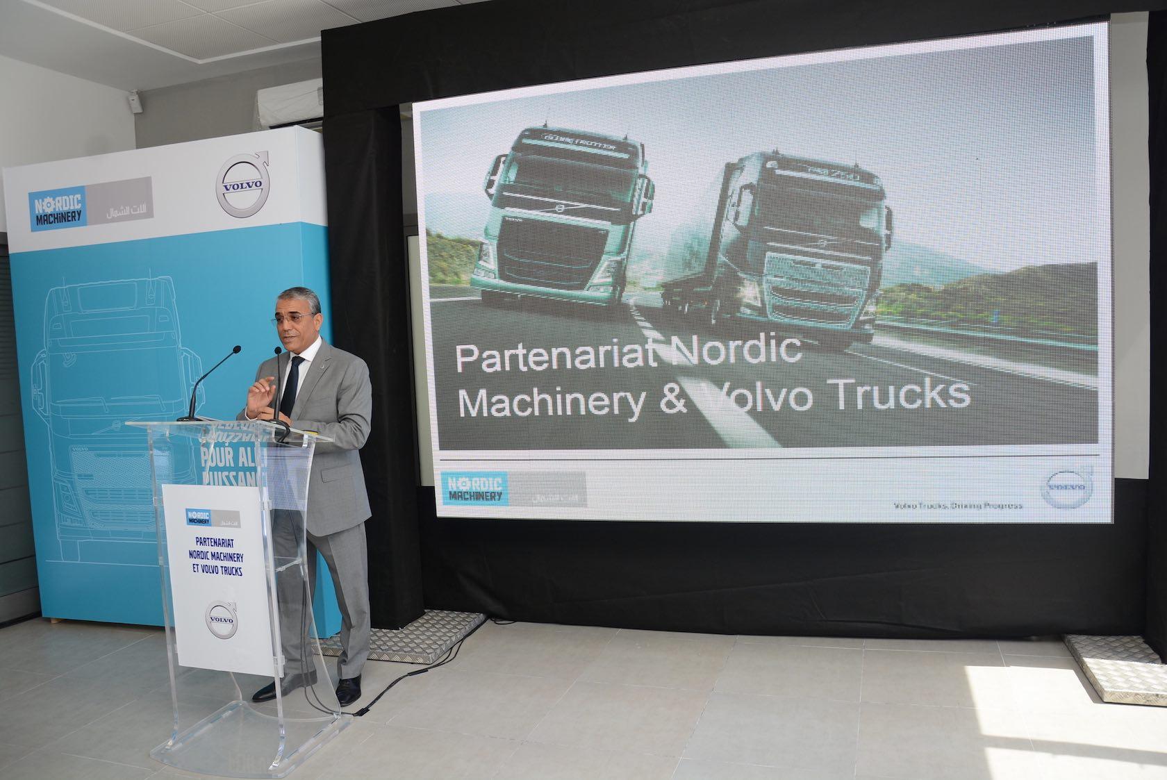 Nordic Machinery, nouvel importateur officiel de VOLVO TRUCKS en Tunisie