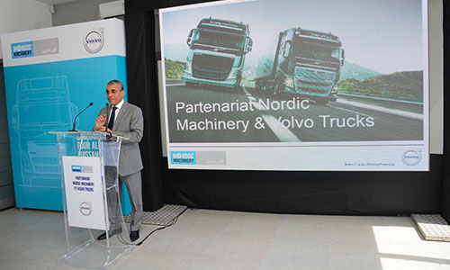 Nordic Machinery, nouvel importateur officiel de VOLVO TRUCKS en Tunisie