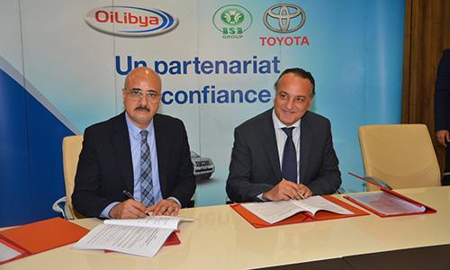 Partenariat entre BSB Toyota et Libya Oil Tunisie