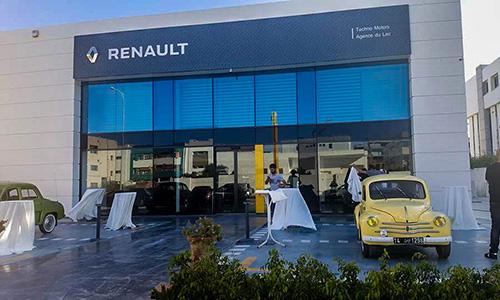 Renault inaugure une nouvelle agence au Kram
