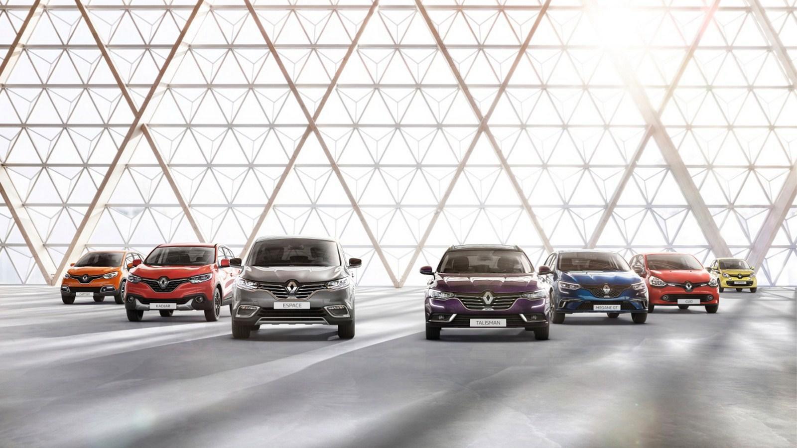 Renault maintient sa position de leader du marché des VP