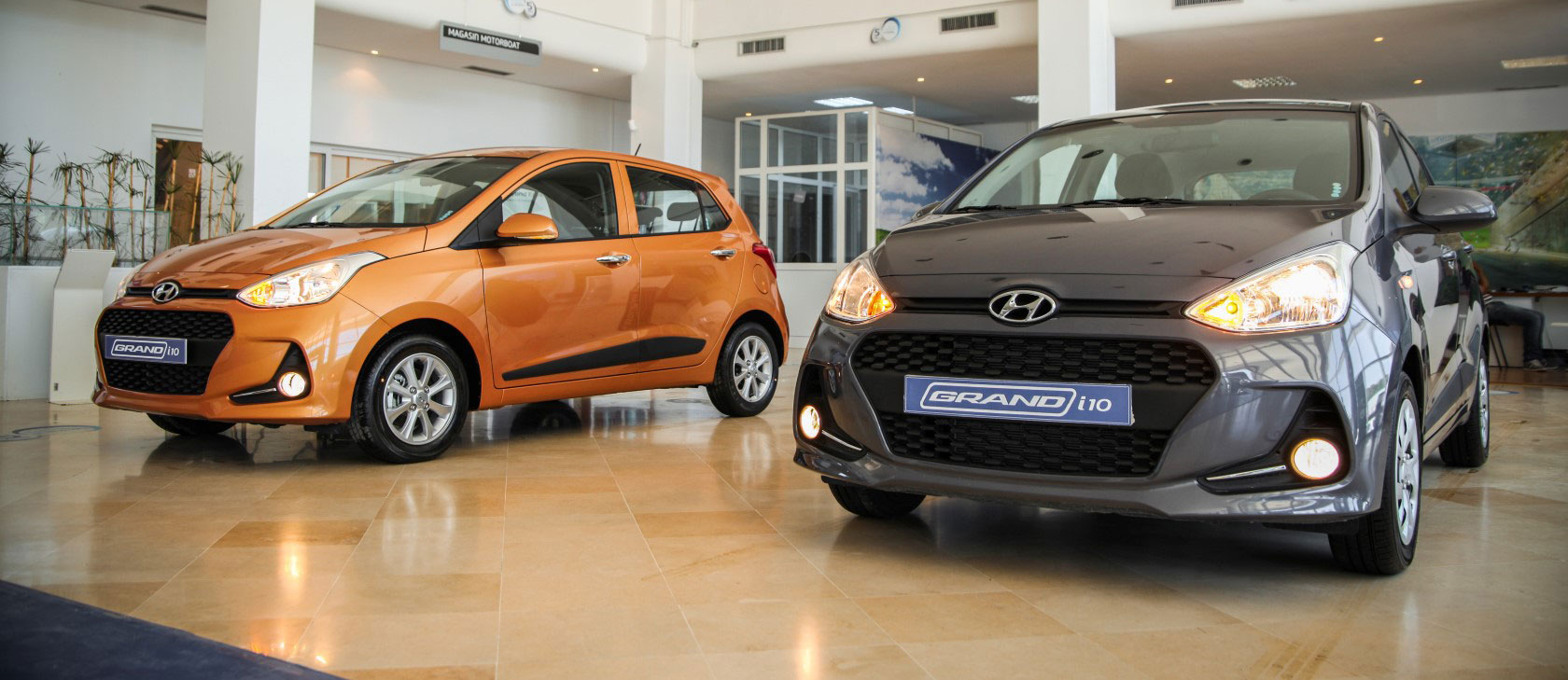 Hyundai Grand i10 restylé chez Alpha Hyundai Motors