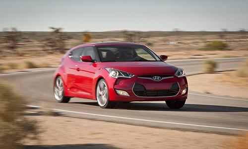Hyundai Veloster classée parmi les voitures les plus cool