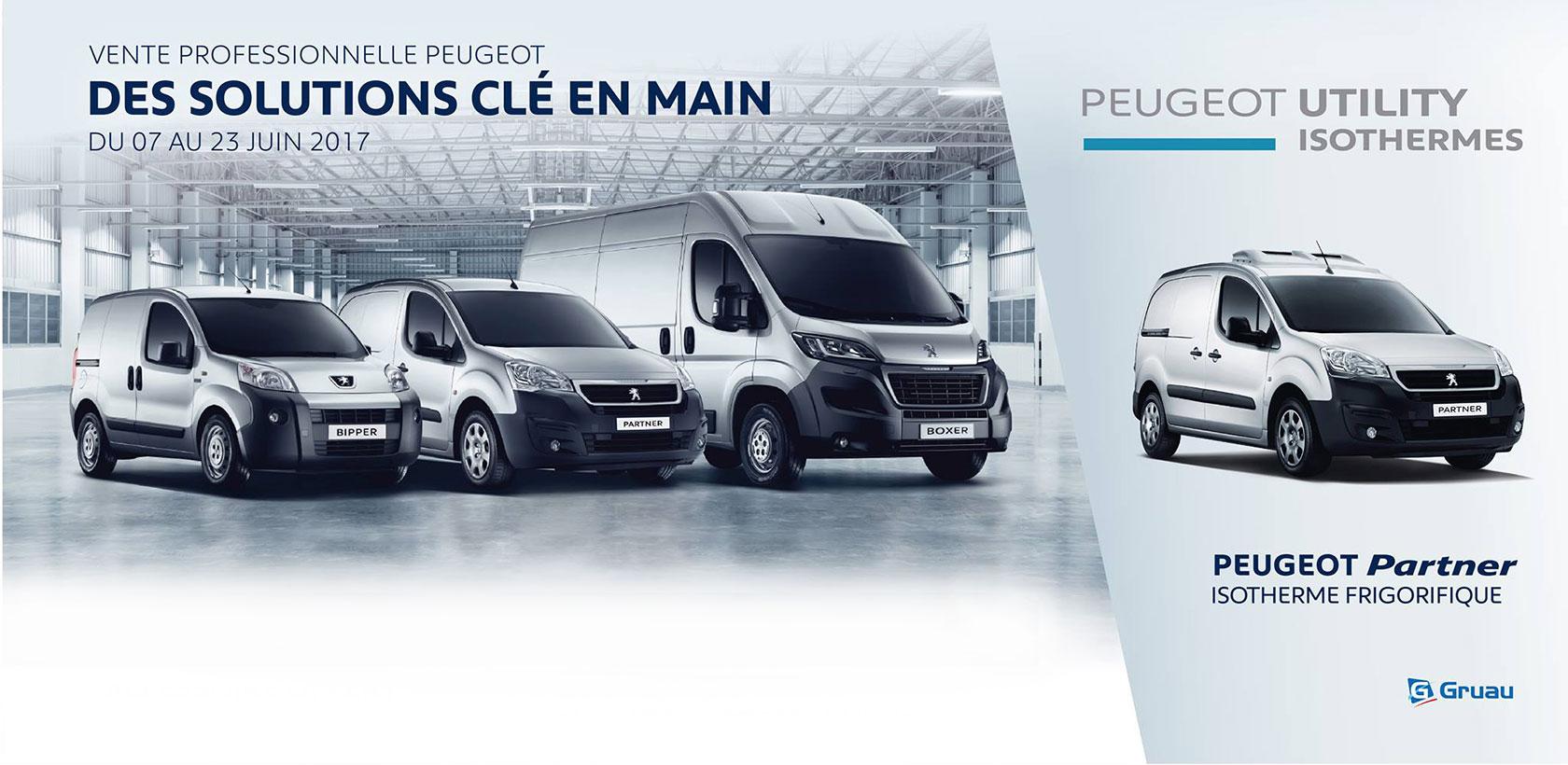 Ne ratez pas les Ventes Professionnelles Peugeot