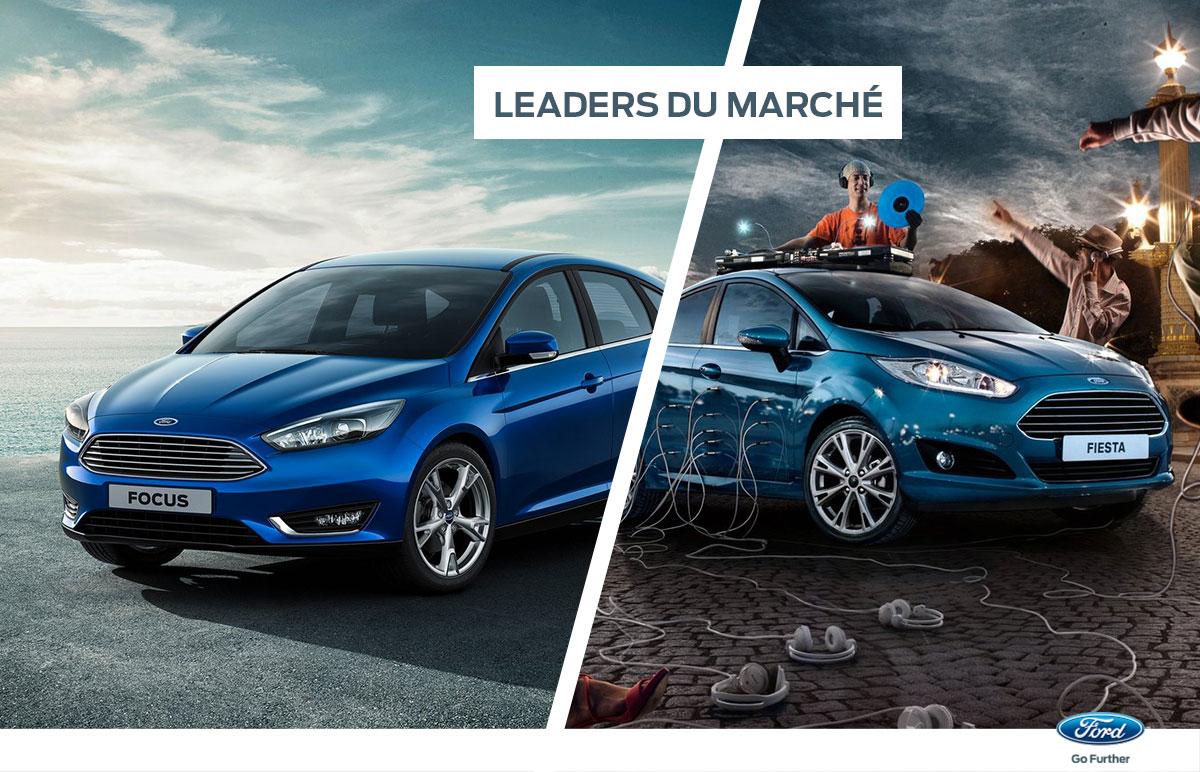Ford Fiesta, Ford Focus, leaders des ventes au premier semestre 2017