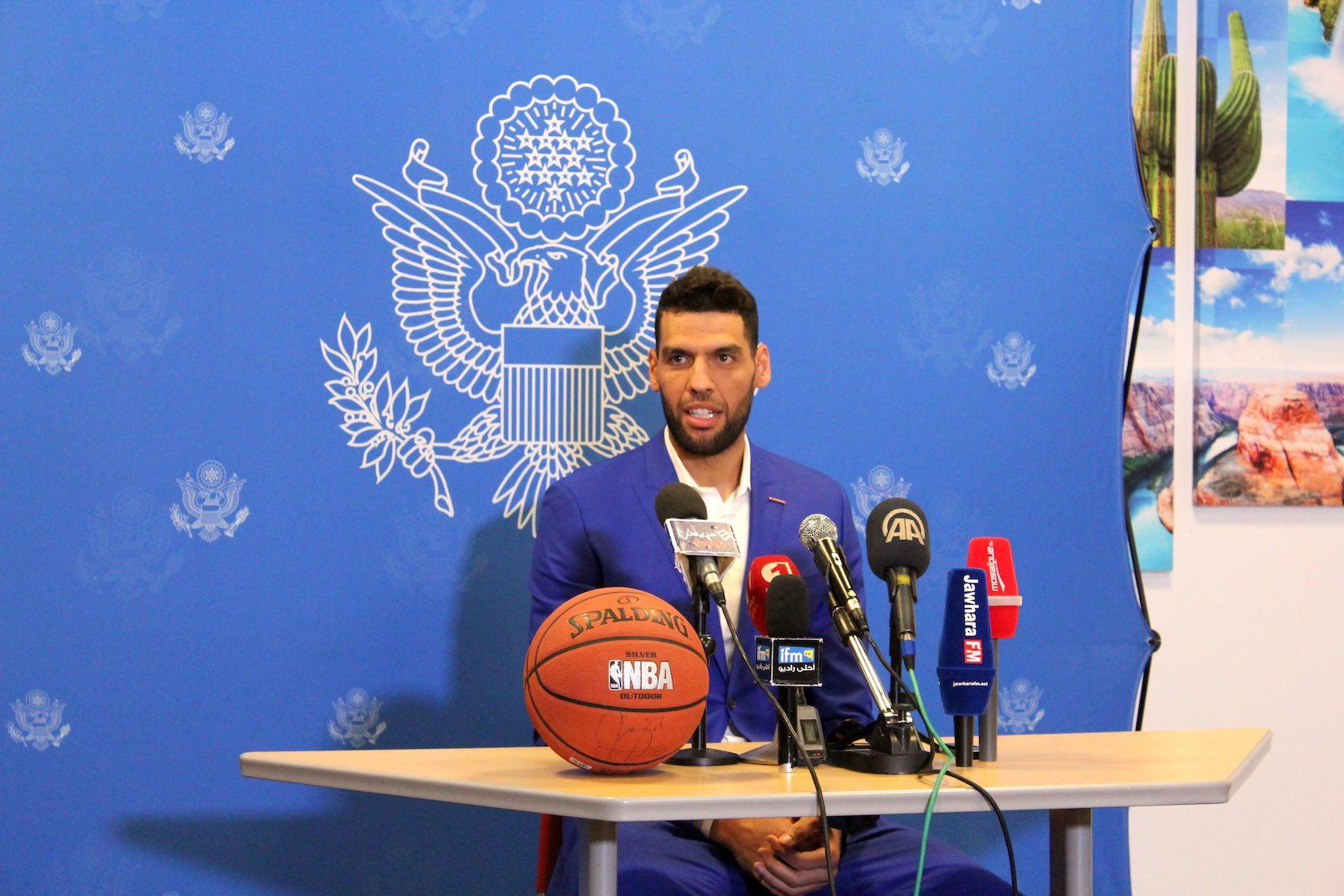Haval NBA Camp 2017 avec Salah Mejri