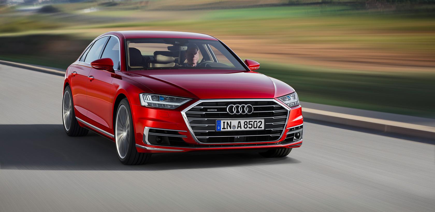 Nouvelle Audi A8 : le futur de la berline de luxe