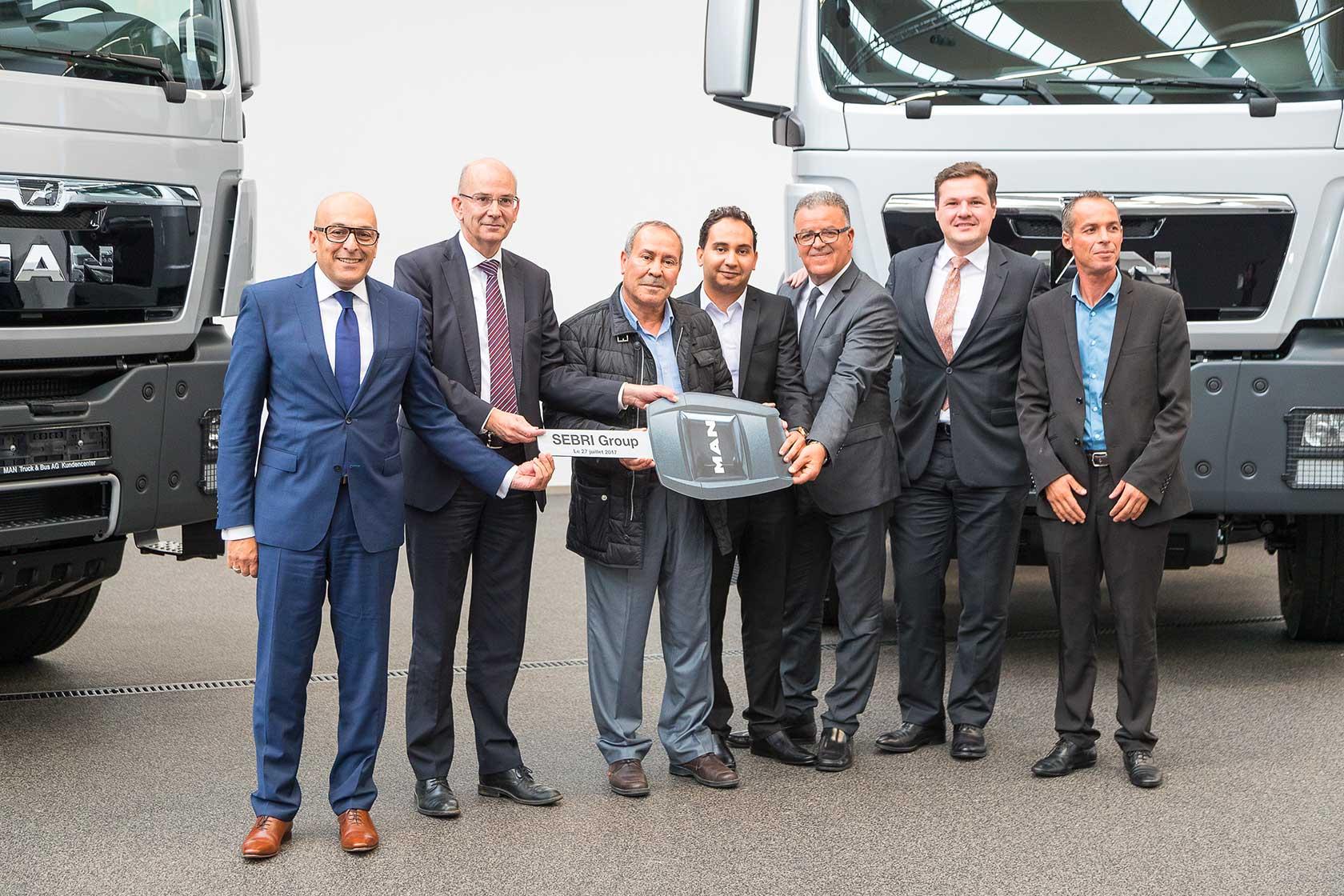 Le Groupe Sebri acquiert 74 camions MAN chez Alpha International