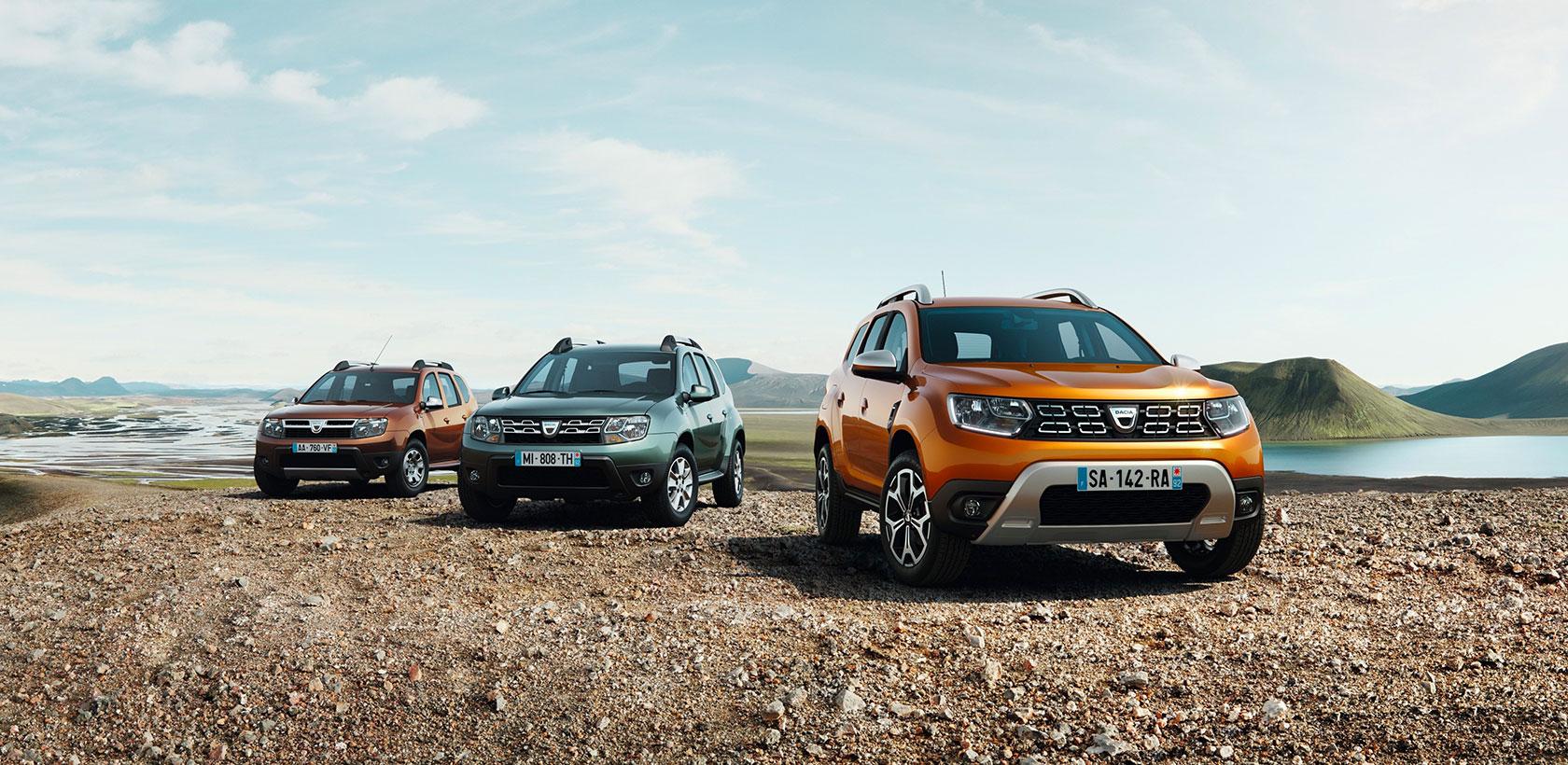 Nouveau Dacia Duster pour 2018