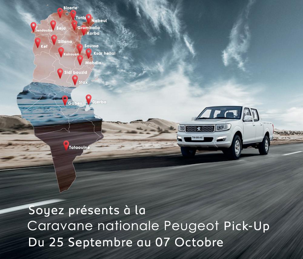 Caravane nationale Peugeot Pick-up