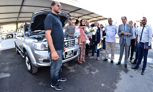 Livraison des premiers exemplaires Peugeot Pick-up