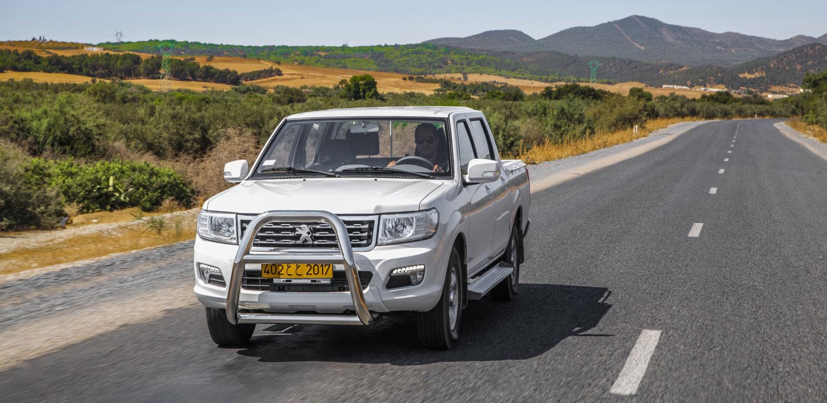 Lancement officiel du Peugeot Pickup en Tunisie