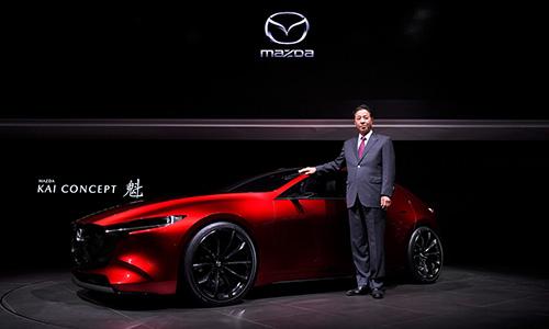 Mazda dévoile le KAI CONCEPT et le VISION COUPE