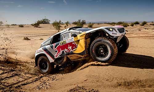 Peugeot sur le podium au Rallye du Maroc