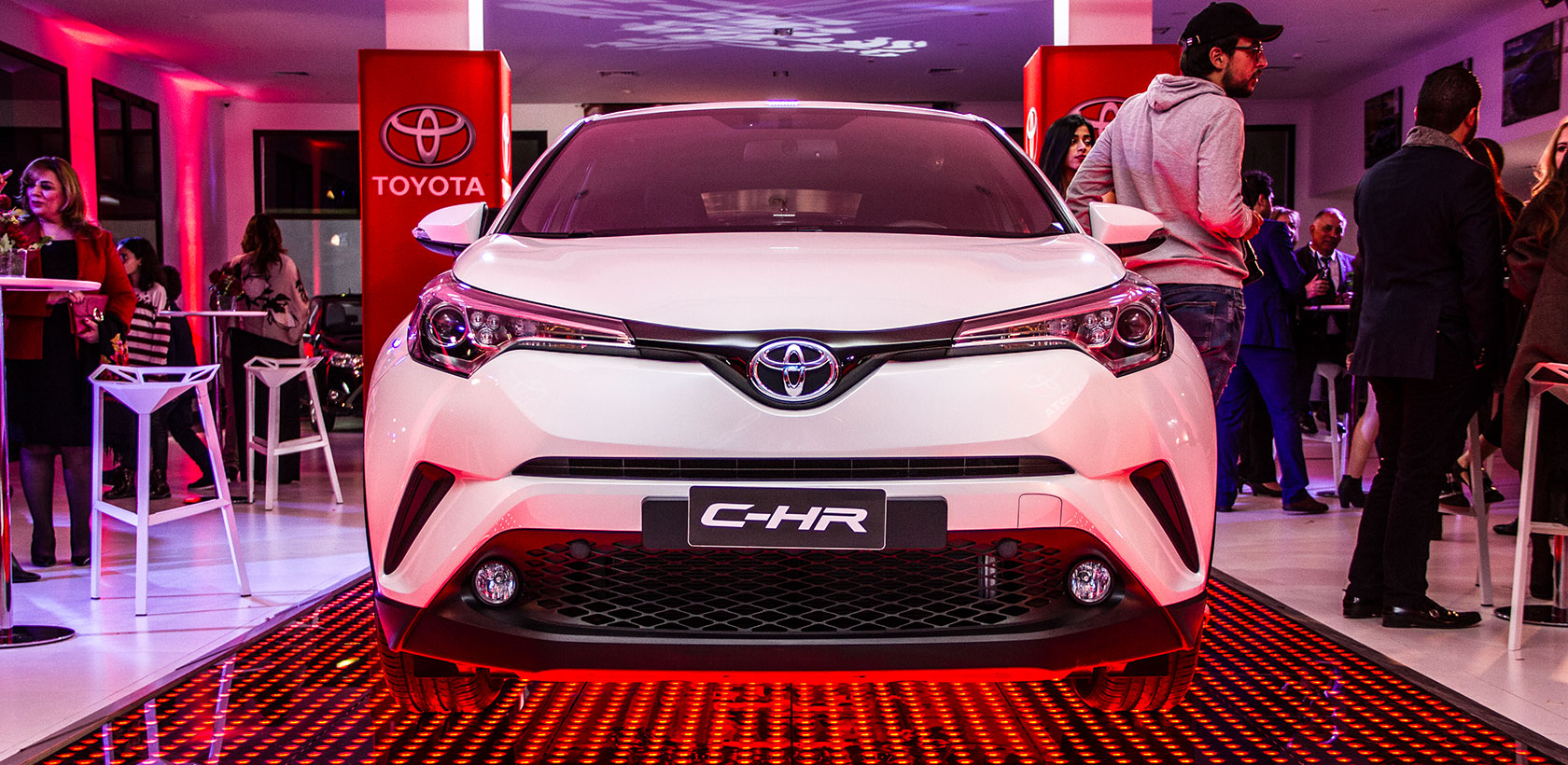 BSB Toyota lance le Crossover C-HR