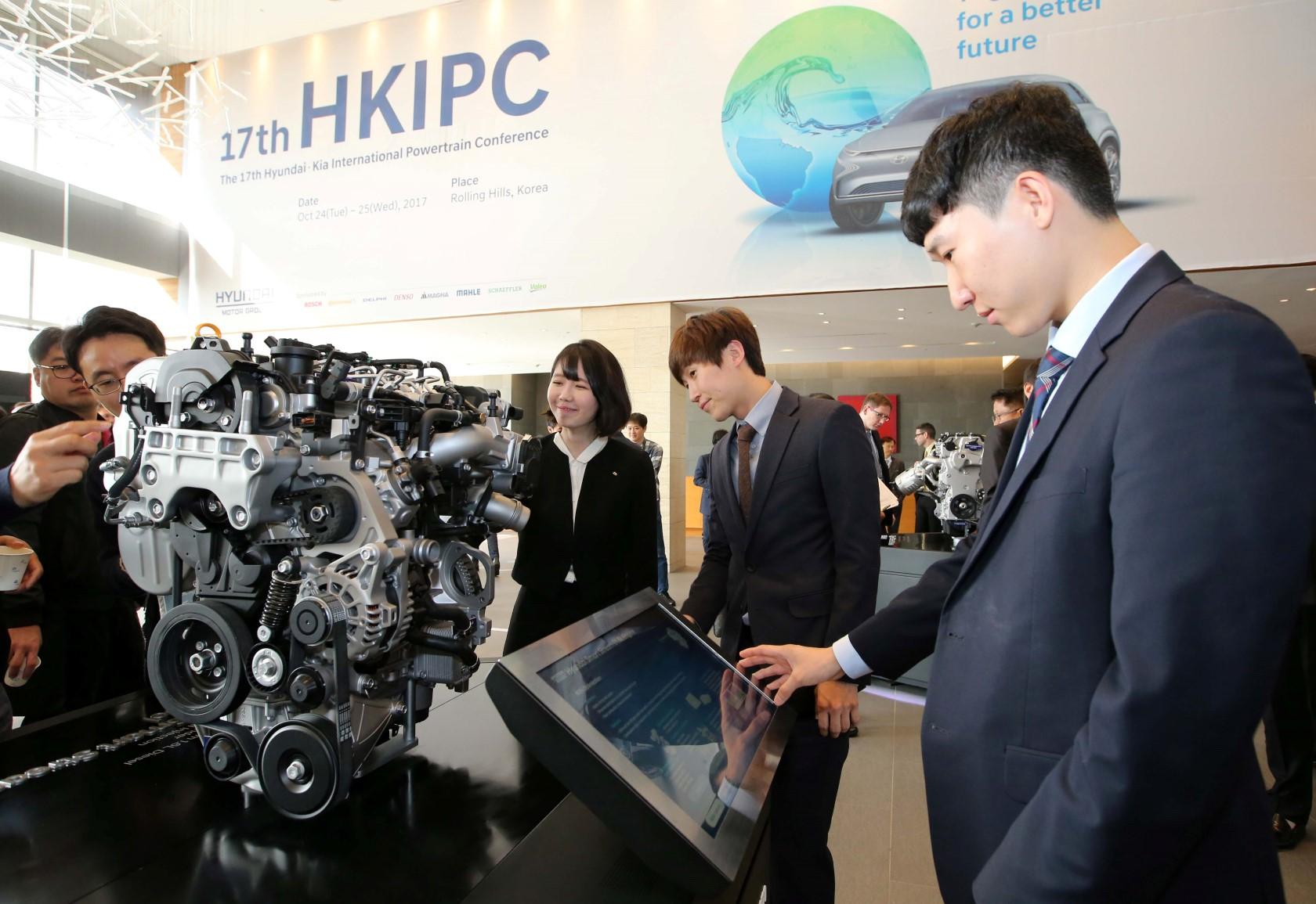 Hyundai présente sa nouvelle gamme de moteurs