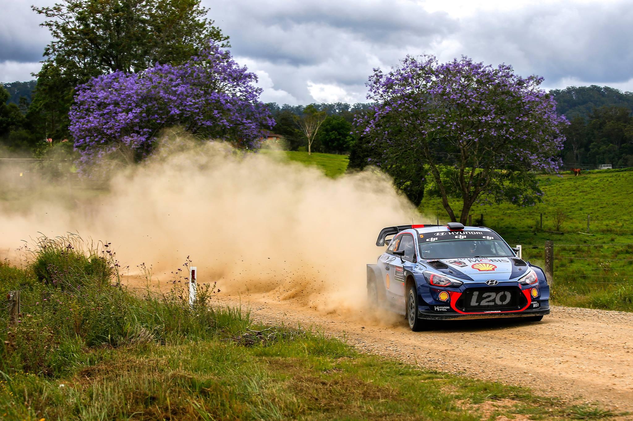 Hyundai remporte le Rallye d'Australie