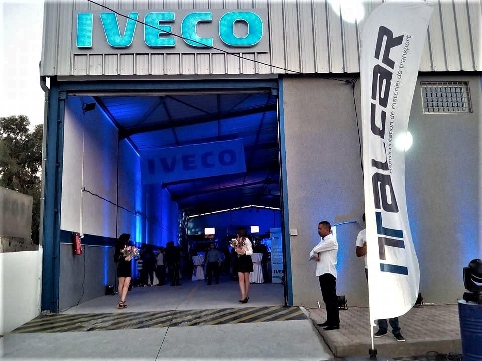 Inauguration d'un nouvel atelier agréé Iveco à Fouchana