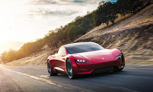 Nouveau Tesla Roadster