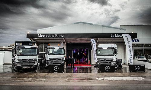 Le Moteur inaugure une nouvelle agence Mercedes-Benz Trucks à Sousse