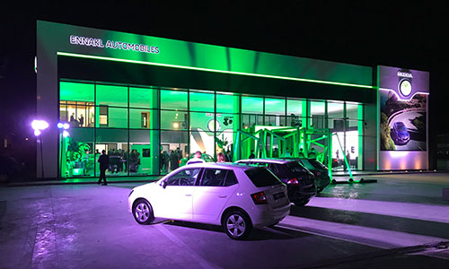 Skoda Tunisie inaugure son nouveau site officiel
