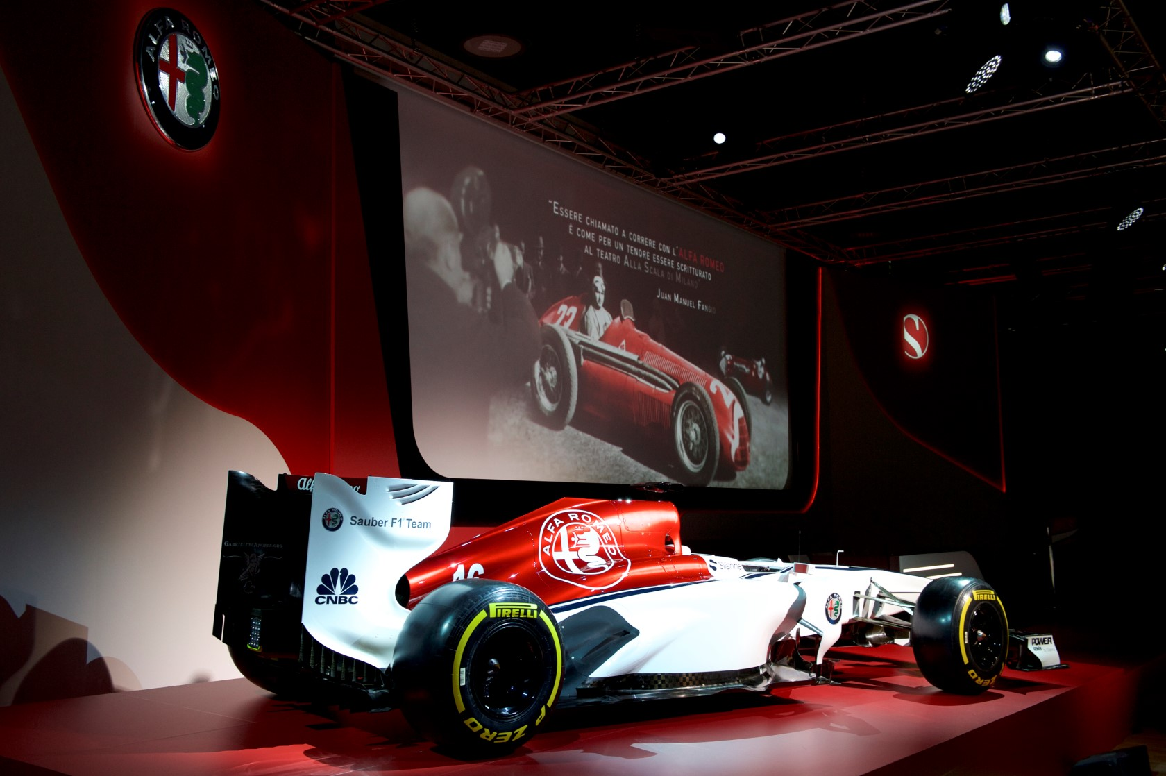 Alfa Romeo de retour en Formule1