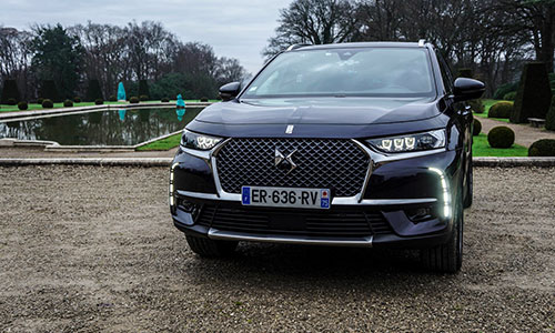 Essai DS7 Crossback à Paris !