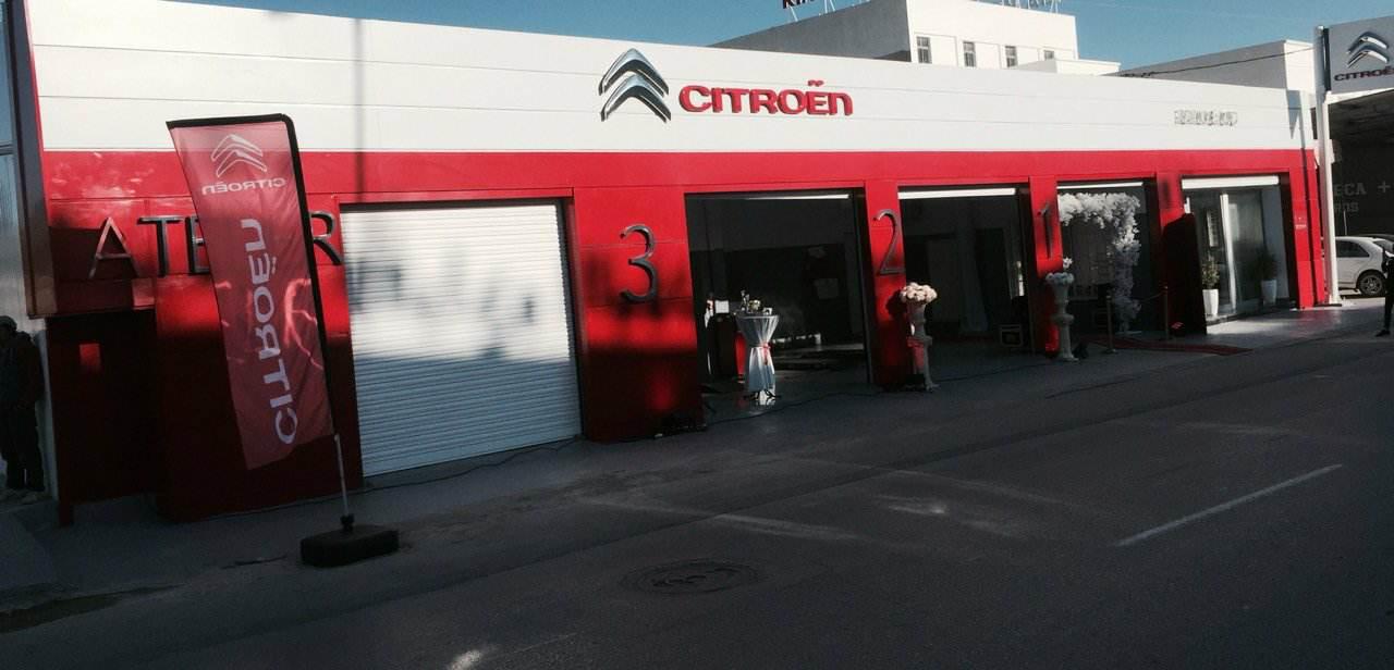 Nouveau réparateur agréé Citroën à Akouda