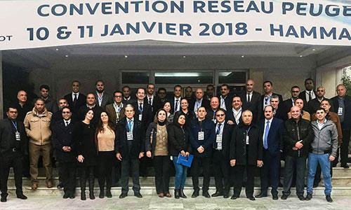 Convention réseau Peugeot Tunisie