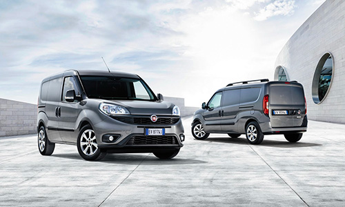 Le Fiat Doblo couronné «Light Van of the Year»